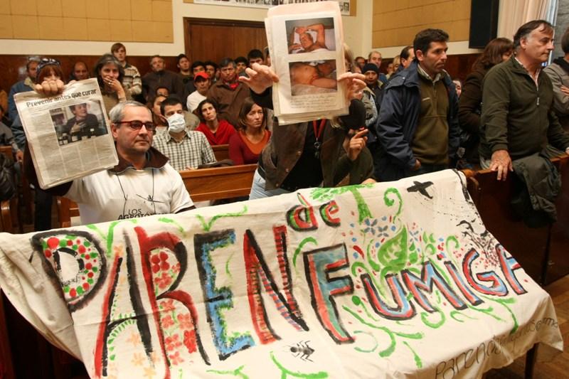 Agroquímicos: la Suprema Corte frenó la polémica ordenanza