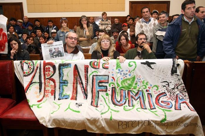 Agroquímicos: intimarán al gobierno a que cumpla la cautelar