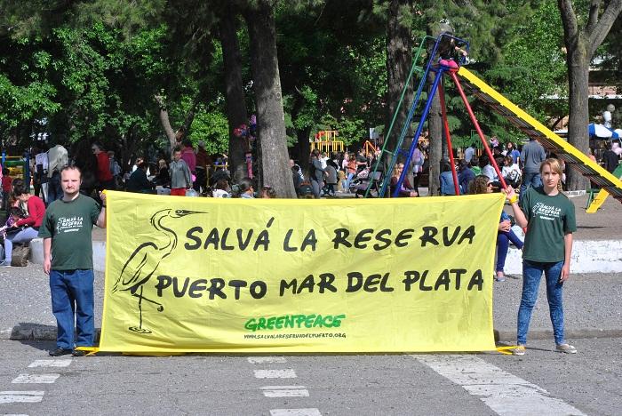 Reserva: se detuvieron las obras y la campaña llegó a la Feria