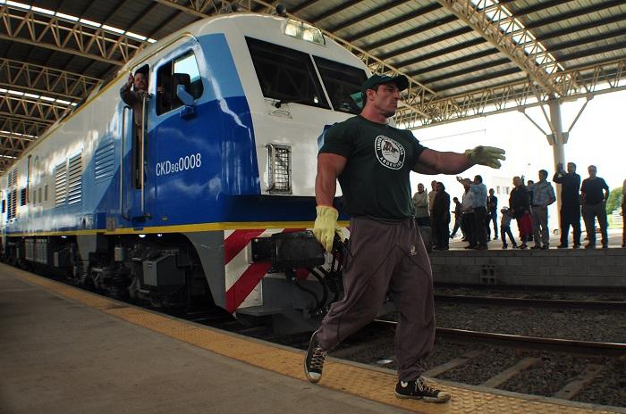 El regreso del tren: empiezan las pruebas sobre las vías