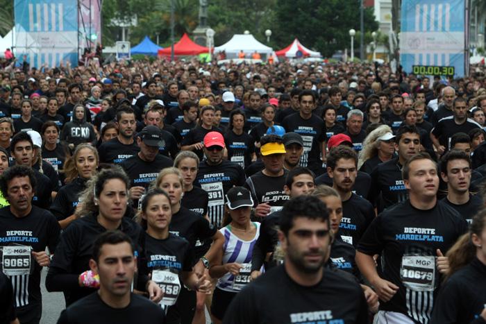 El maratón de Mar de Plata partirá desde Playa Grande