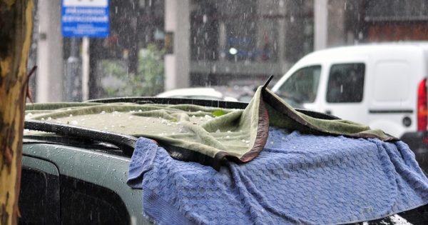 Alerta meteorológico por lluvias, tormentas y ocasional granizo
