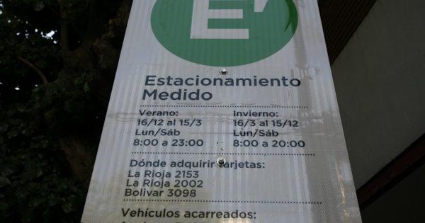 Aumenta el estacionamiento medido: desde el lunes, $6 la hora