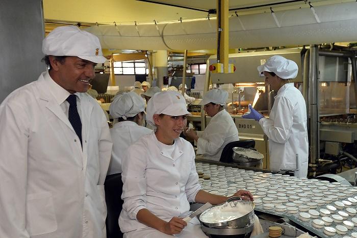 En medio de alfajores, Scioli destacó nueva inversión para el Parque Industrial
