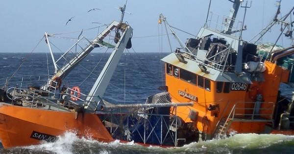 Se hundió un barco: hay cinco tripulantes desaparecidos