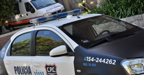 Un policía está grave tras un accidente de tránsito