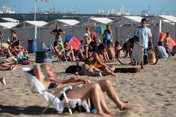 Fin de semana: balnearios con ocupación récord del verano