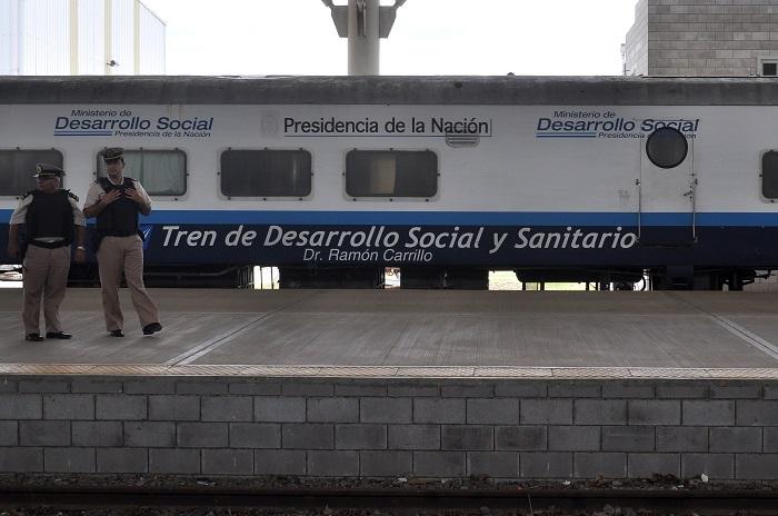 Un tren sanitario atenderá por dos semanas en la Ferroautomotora