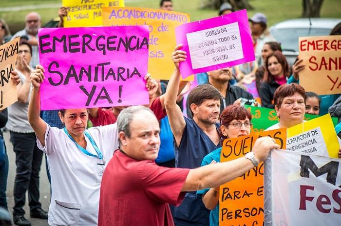 """Ante la """"crisis del sistema de salud"""", piden respuestas"""