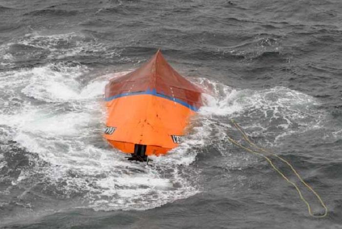 San Jorge I: sin resultados, se realizó un rastrillaje subacuático