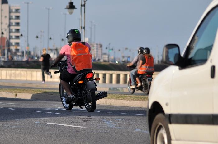 En un mes secuestraron más de 400 motos por falta de casco y documentación