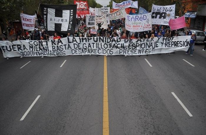 Marcha 24 marzo no oficialista