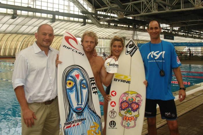 La Selección de Surf se prepara para el Mundial