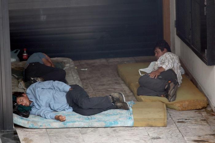 En Mar del Plata, 280 personas duermen en la calle