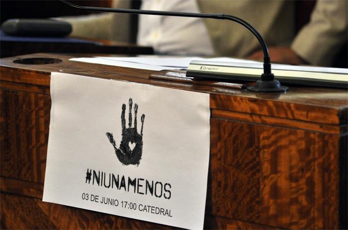 #NiUnaMenos: la emergencia, a un paso de llegar al recinto
