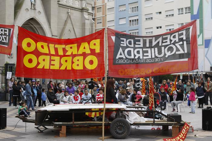 La izquierda, unida en el Frente de los Trabajadores