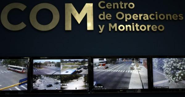 Choque fatal en Luro y 212: quedó grabada la huida del conductor
