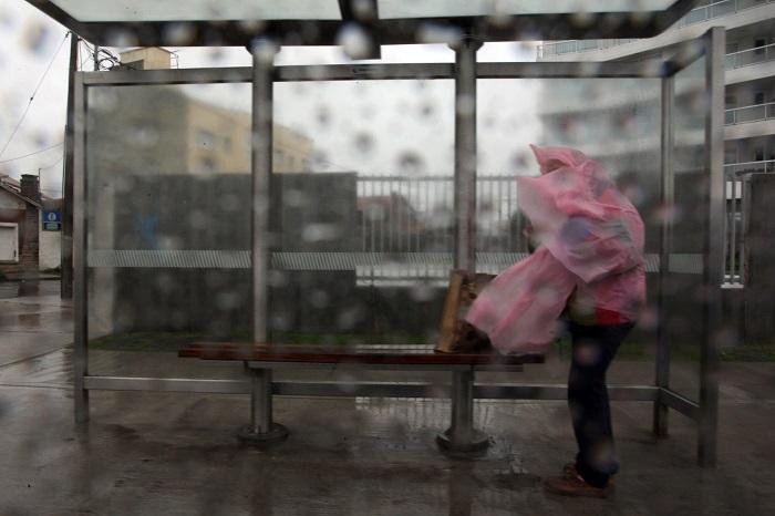 Alerta meteorológico por intensos vientos