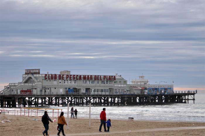 Lluvia, mucho frío, viento y ¿nieve en Mar del Plata?