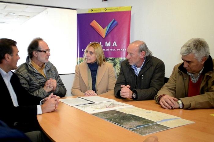 Baragiola y Arroyo, junto al ministro de Desarrollo Urbano de Macri