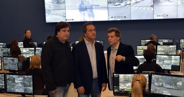 """Seguridad: Scioli habló de """"muy buenos resultados"""""""