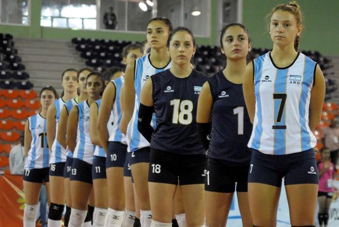 Vóley: Argentina comienza el Mundial de la mano de Azul Benítez