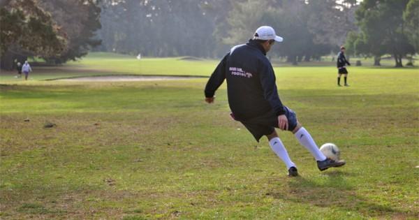 """Footgolf: el refinado arte de patear un """"fulbo"""""""