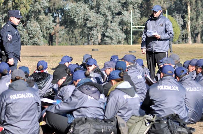 Policía local: la tercera camada egresará el 20 de diciembre