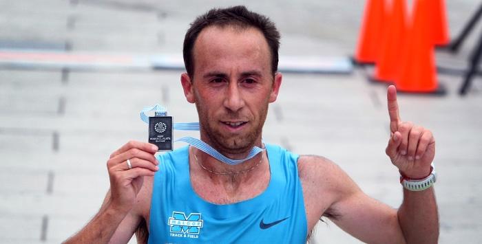 Mastromarino logró el bronce en la maratón