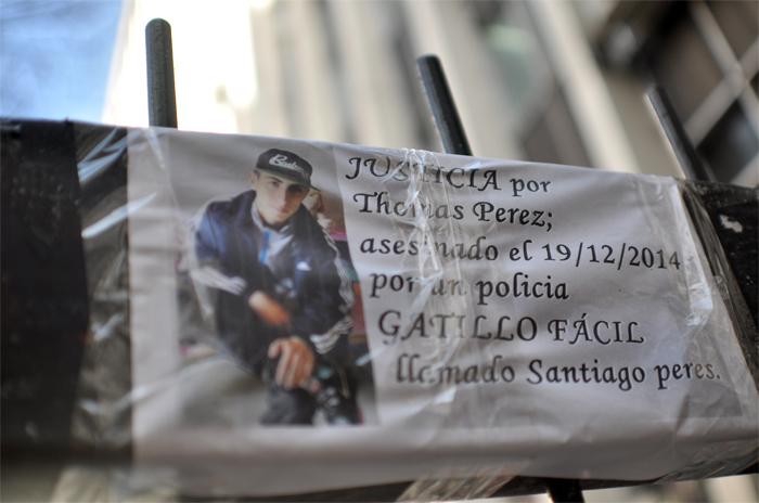 Caso Thomás Pérez: piden sobreseer al policía imputado