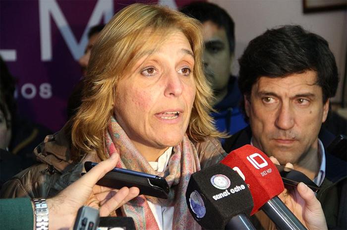 Baragiola reconoció la derrota en la interna frente a Arroyo