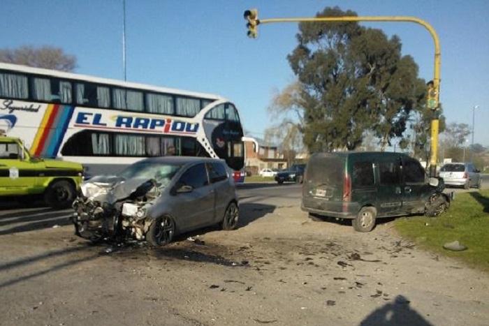Dos heridos tras un nuevo choque en la Ruta 88
