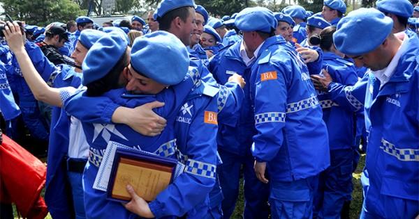 Egresan 180 nuevos policías locales: irán al Operativo Sol