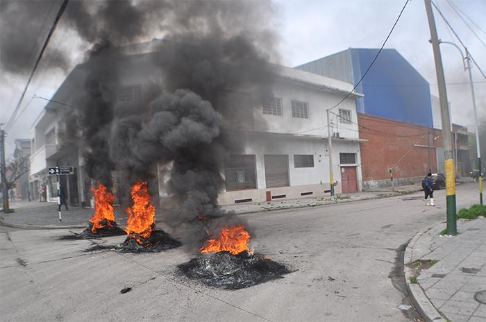 Cooperativa del Puerto protesta por falta de trabajo