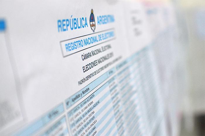 ¿Dónde voto? Ya se puede consultar el padrón para las elecciones