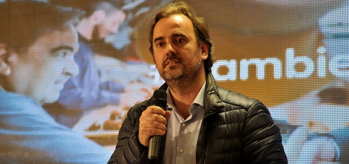 """""""Quiero consolidar Cambiemos con el respaldo de la gente"""""""