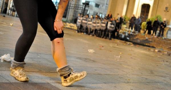 Incidentes y represión en la Catedral: al menos seis heridos