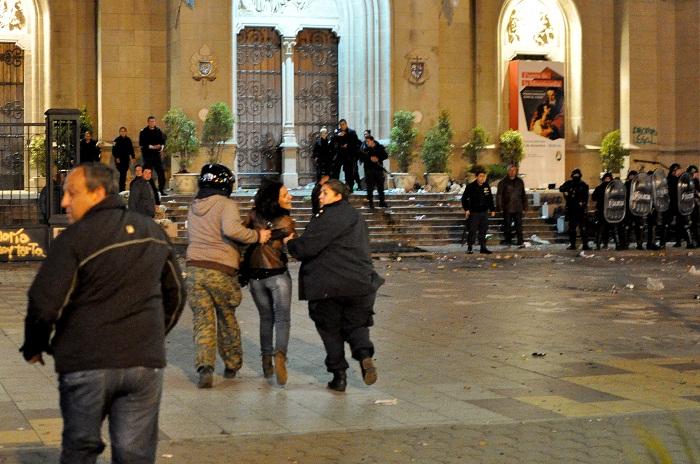 """""""Las detenciones por parte de la policía fueron ilegales"""""""