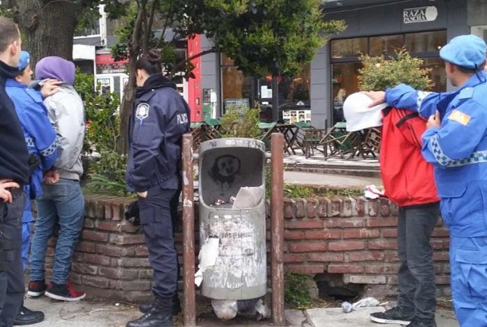 Policía local: dos menores, los primeros aprehendidos