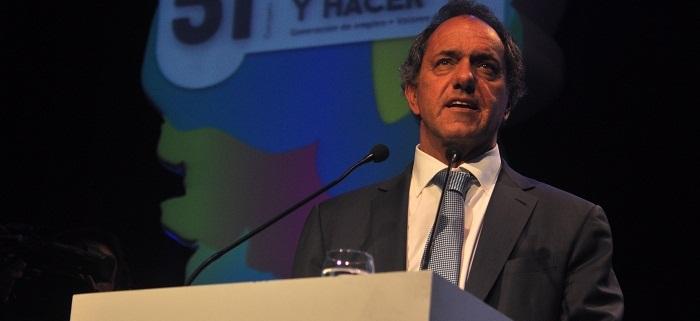 """Scioli abrió el Coloquio de IDEA: """"La clave es la inversión, no el ajuste"""""""