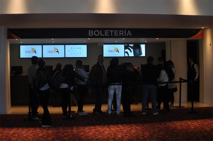 FESTIVAL DE CINE BOLETERIA PASEO ALDREY