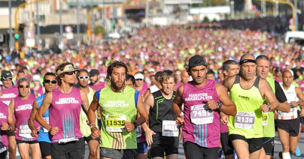 Insólito: prohíben difundir fotos del Maratón hasta que termine