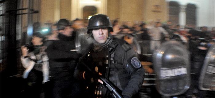 """Represión estatal: """"Estamos ante un escenario político complejo"""""""
