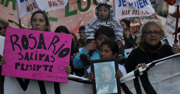 #NiUnaMenos, por la emergencia nacional en violencia de género