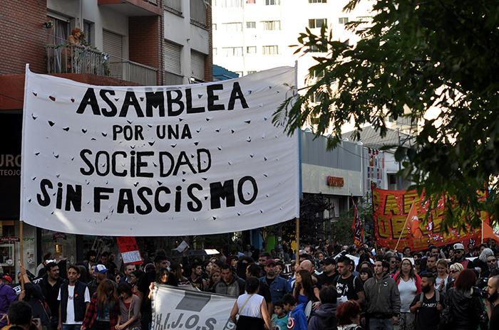 """Amenazas tras la marcha: """"Estás identificada terrorista villera"""""""