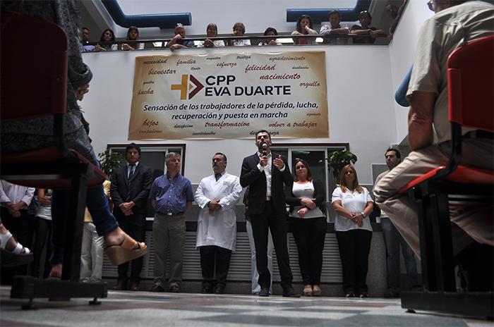 "Eva Duarte: ""Hay 66 camas del HIGA que se destinan para PAMI"""