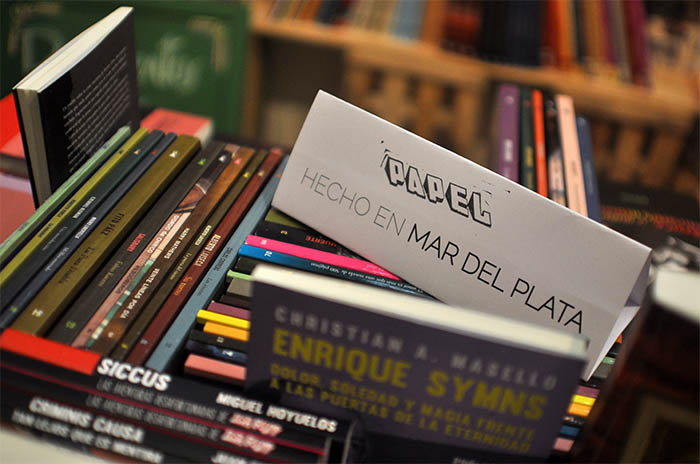 Tienda papel, un stand de editoriales marplatenses