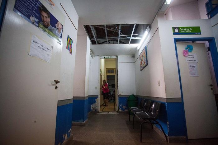"""""""De los 32 centros de salud, solo 8 fueron reparados"""""""