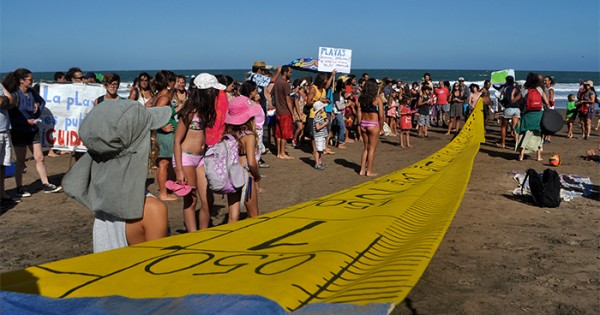 """Marcha por las playas públicas: """"Hay que exponerel problema"""""""