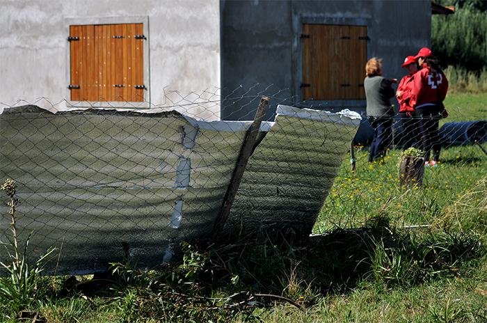 Tornado en La Trinidad: más de 30 viviendas deben ser reparadas